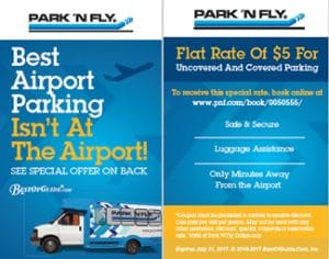park n fly coupon