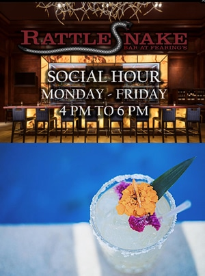 fearing's rattlesnake happy hour