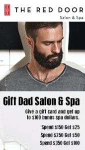 spa deals fathers